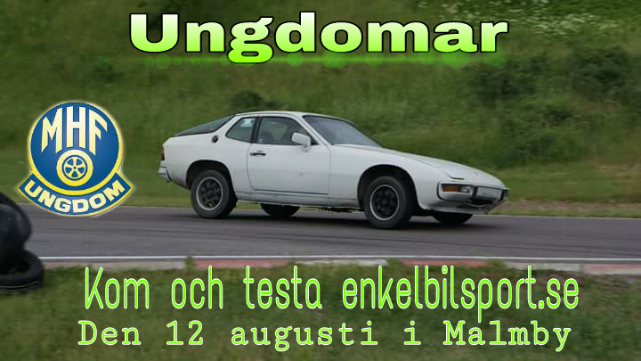 enkel bilsport 12 Aug